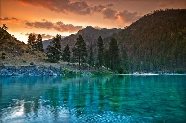 Idaho, Middle Fork Salmon, multi-day river trip, kayaking, USA, Idaho kayaking