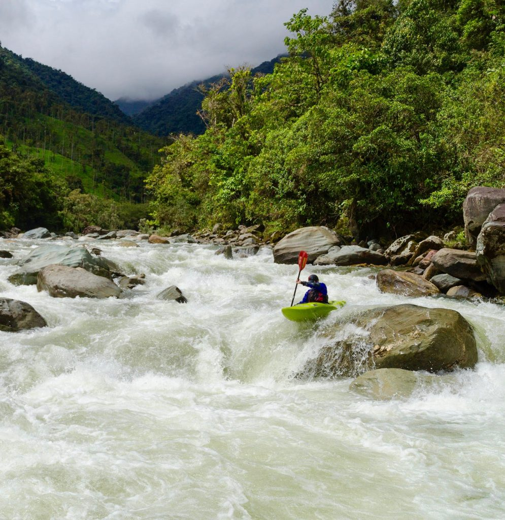 Kayak Ecuador, kayaking in Ecuador, kayak ecuador, ecuador paddling, padding south america, kayaking south america