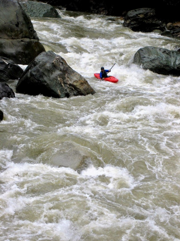 South America kayaking vacation, kayak trips, whitewater paddling, paddling south america