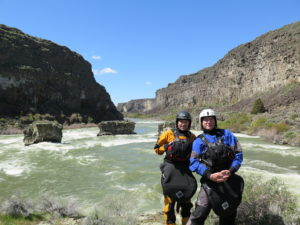 snake river, couples kayaking, kayaking, adventures, whitewater, gear