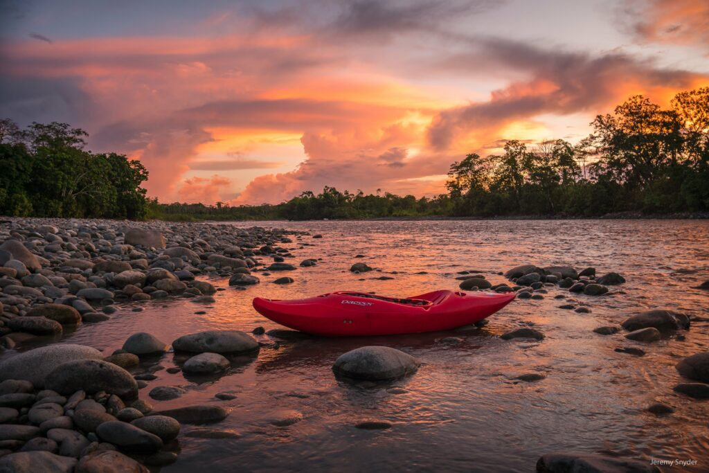 kayak Ecuador, kayaking in Ecuador, ecuador kayak, small world adventures, adventure travel, whitewater kayaking
